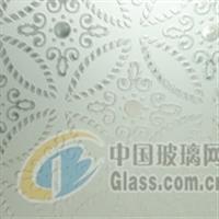裝綠色環�,F代裝飾藝術玻璃