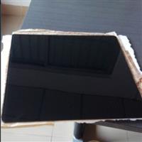 生产黑色高温丝印玻璃片 艺术彩釉玻璃