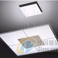 供应灯具玻璃/钢化玻璃/丝印/喷砂