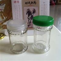 厂家供应多种容量花边酱菜玻璃瓶