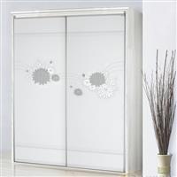 龙兴玻璃供应价格适中的3D立体超白玻璃门