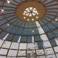 玻璃天顶穹顶防爆隔热膜
