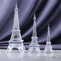 法国标致建筑埃菲尔铁塔水晶模型