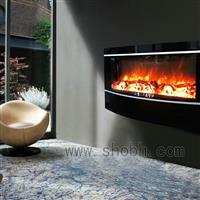 弧形玻璃壁挂炉采暖