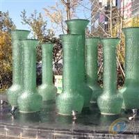 疊層流水玻璃雕塑