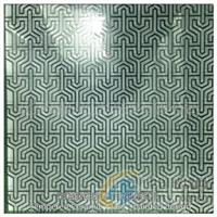 彩釉鋼化玻璃:印花圖案