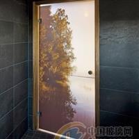 彩釉玻璃门