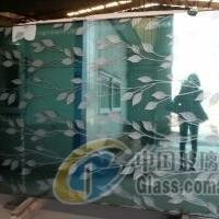 沙河多種圖案工藝玻璃供應