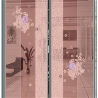 UV彩镜淋漆普白衣柜电视背景墙玻璃
