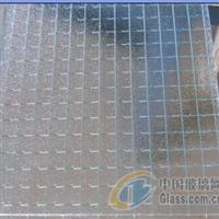 优质透明方格夹丝玻璃