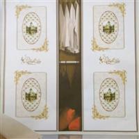 欧式超白软包拼割艺术衣柜玻璃