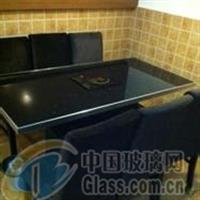 10mm黑色玻璃火锅桌