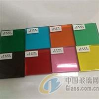廠家直銷高品質夾顏色夾膠玻璃