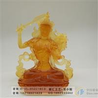 文殊菩萨制作,佛教琉璃佛像定做
