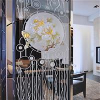 無錫夾絲玻璃 藝術玻璃