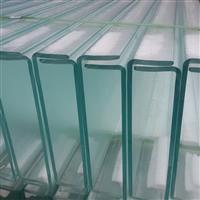 幕墙玻璃U型玻璃槽型玻璃玉沙