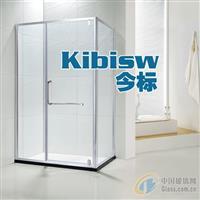 长方形淋浴房转轴平开门淋浴隔断