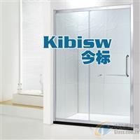 淋浴房一固一活钢化玻璃淋浴隔断
