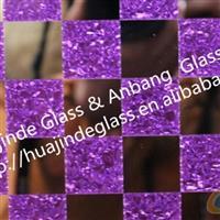新品冰花橱柜玻璃  马赛克