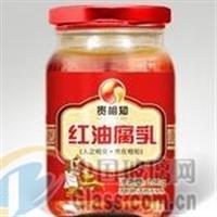 徐州天洪益华玻璃瓶厂家直销玻璃腐乳瓶