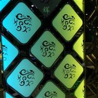 各種顏色電雕玻璃