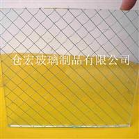 上海透明夾絲玻璃價格