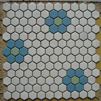 六角形马赛克 六角砖 玻璃砖