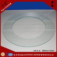 厂家直销环形玻璃盘  筛选机玻璃圆盘