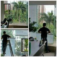 湛江办公室白条膜玻璃装饰贴膜