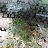 立體高透玻璃、亞光玻璃立體線條