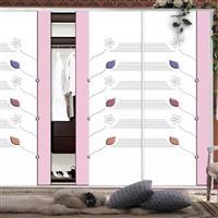 成品吸塑移门成品木衣柜门成品门批发