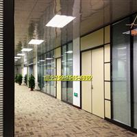深圳办公室玻璃百叶隔断