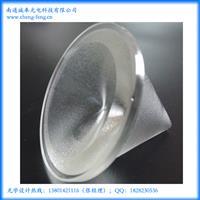 专业设计锥形车灯玻璃透镜