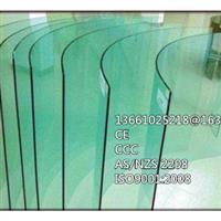 供應5mm彎鋼化玻璃