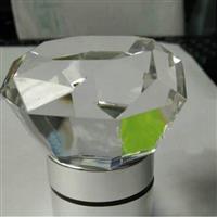 厂家定制水晶酒瓶盖 玻璃酒瓶塞