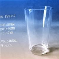 直身玻璃水杯LOGO成批出售定制