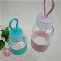 厂家供应高硼硅耐热玻璃运动水壶