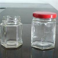6楞玻璃瓶醬菜瓶蜂蜜瓶