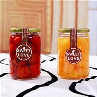 玻璃蜂蜜瓶玻璃瓶醬菜瓶