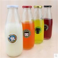 牛奶瓶玻璃瓶饮料瓶