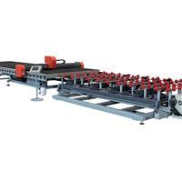 全自动数控异形玻璃切割生产线/玻璃切割机/切割机