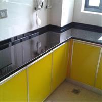 贵州防弹玻璃台面 欧雅板式家具
