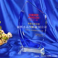 供应K9水晶玻璃工艺品奖杯