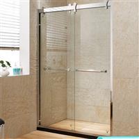 厂家直销浴室玻璃隔断干湿分区