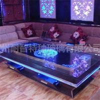 LED发光玻璃酒店KTV