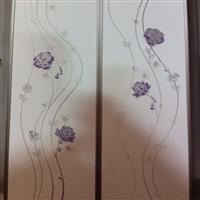 沙河廠家成批出售冰花衣柜門玻璃