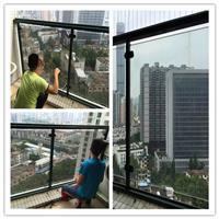 湛江高层楼房阳台玻璃防爆贴膜