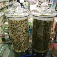 玻璃茶叶罐密封储物罐干果花茶瓶