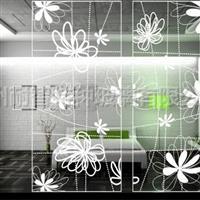 彩绘艺术玻璃装饰背景墙专项使用