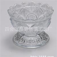玻璃盆厂家玻璃器皿干果盘